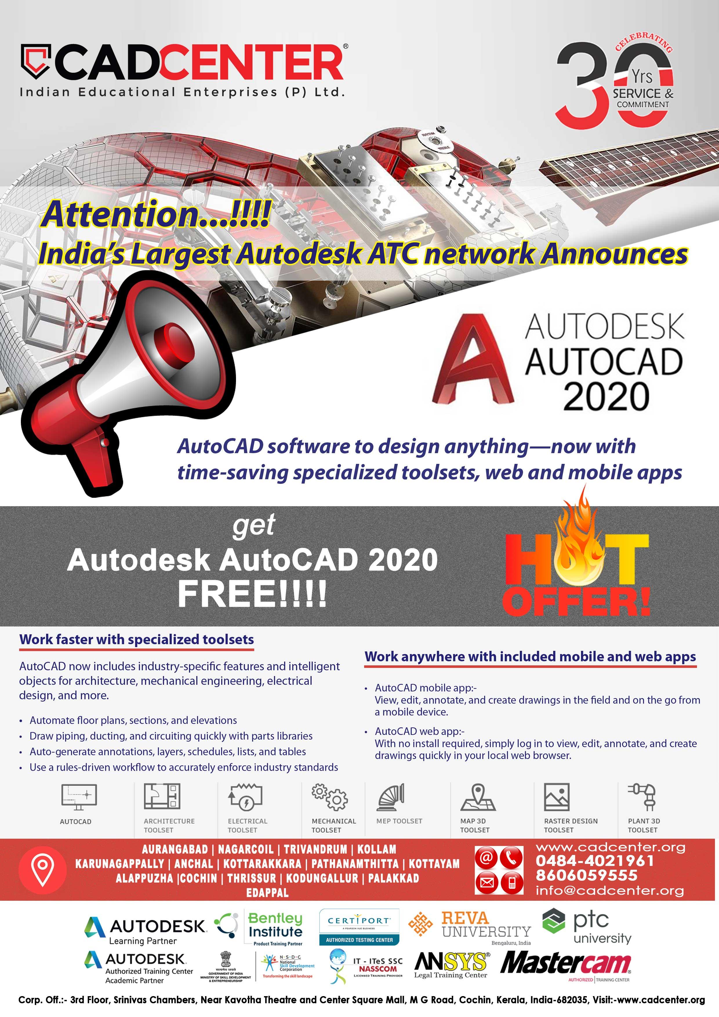 CAD Center - AutoCAD, Civil CAD, Mechanical CAD, Electrical
